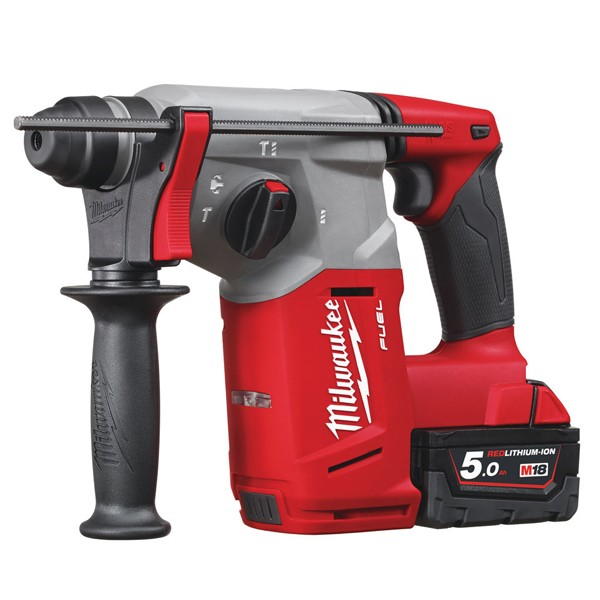 Milwaukee M18 CH-502C FUEL - aku kombi kladivo SDS-plus